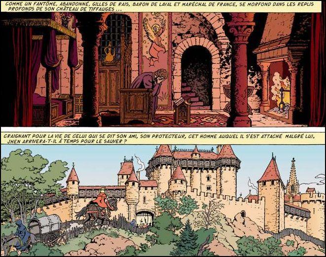 Les Ombres des Cathares, une aventure de Jhen, héros créé par  Martin et Pleyers